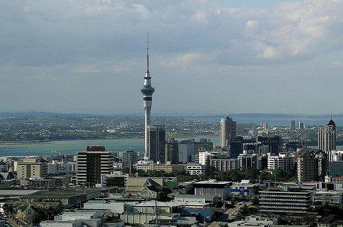 View of Auckland City