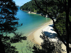 <br /> Beach Abel Tasman National Park