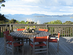 terrace of pukematu lodge