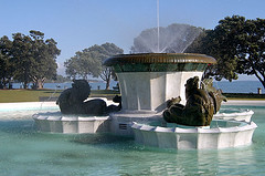 Fountain at Mission Bay