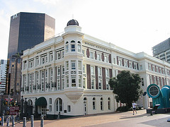 grand old building in Wellington