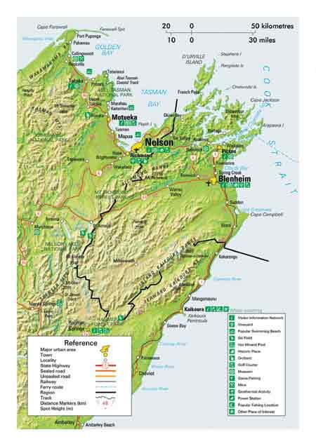 Map of Marlborough