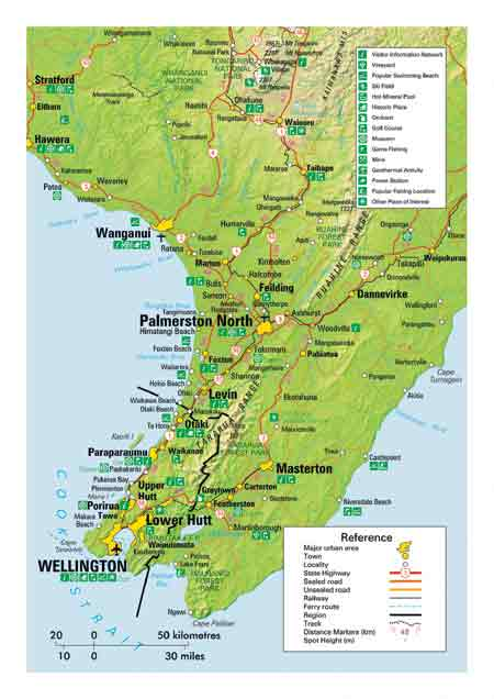 Map of Wellington