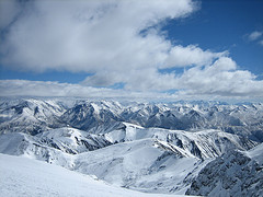 Mount Hutt and the Southern Alps